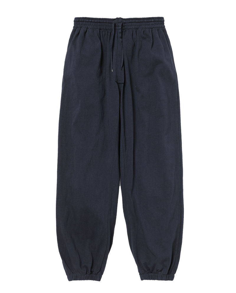 RIBBED BAGGY EASY PANTS